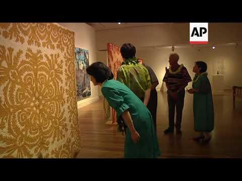 japanese-royals-visit-honolulu-museum-of-art-in-hawaii