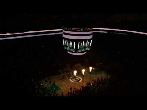 Boston Celtics introduce Gordon Hayward in starting lineup for first time at TD Garden