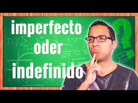 Imperfecto vs Indefinido – Spanisch einfach lernen