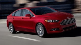 2015 Ford Fusion Start Up and Review 2.0 L 4-Cylinder Turbo