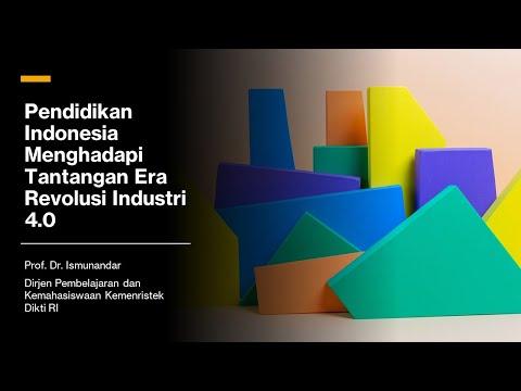 Pendidikan Indonesia Menghadapi Tantangan Era Revolusi Industri 4.0   Prof. Dr. Ismunandar