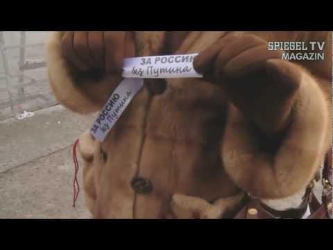 Alphamännchen Putin: Proteste