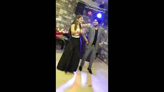 punjabi couple dance performance on gallan mithiyan on their 1st anniversary