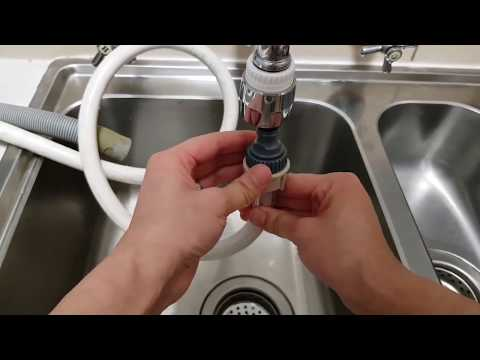Connect dishwasher to faucet