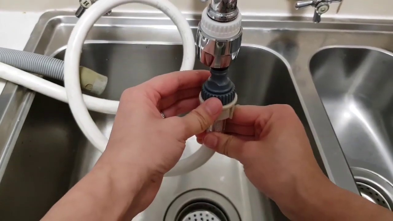 how to attach your dishwasher to your kitchen tap connect benchtop dishwasher