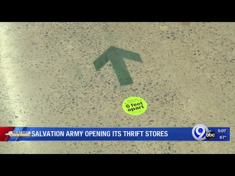 Salvation Army Opening Its Thrift Stores
