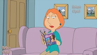 Family Guy  - Lois is watching the magazine