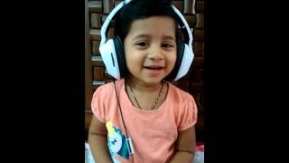 2.5 year girl singing Dr. Rajkumar song for his birthday..