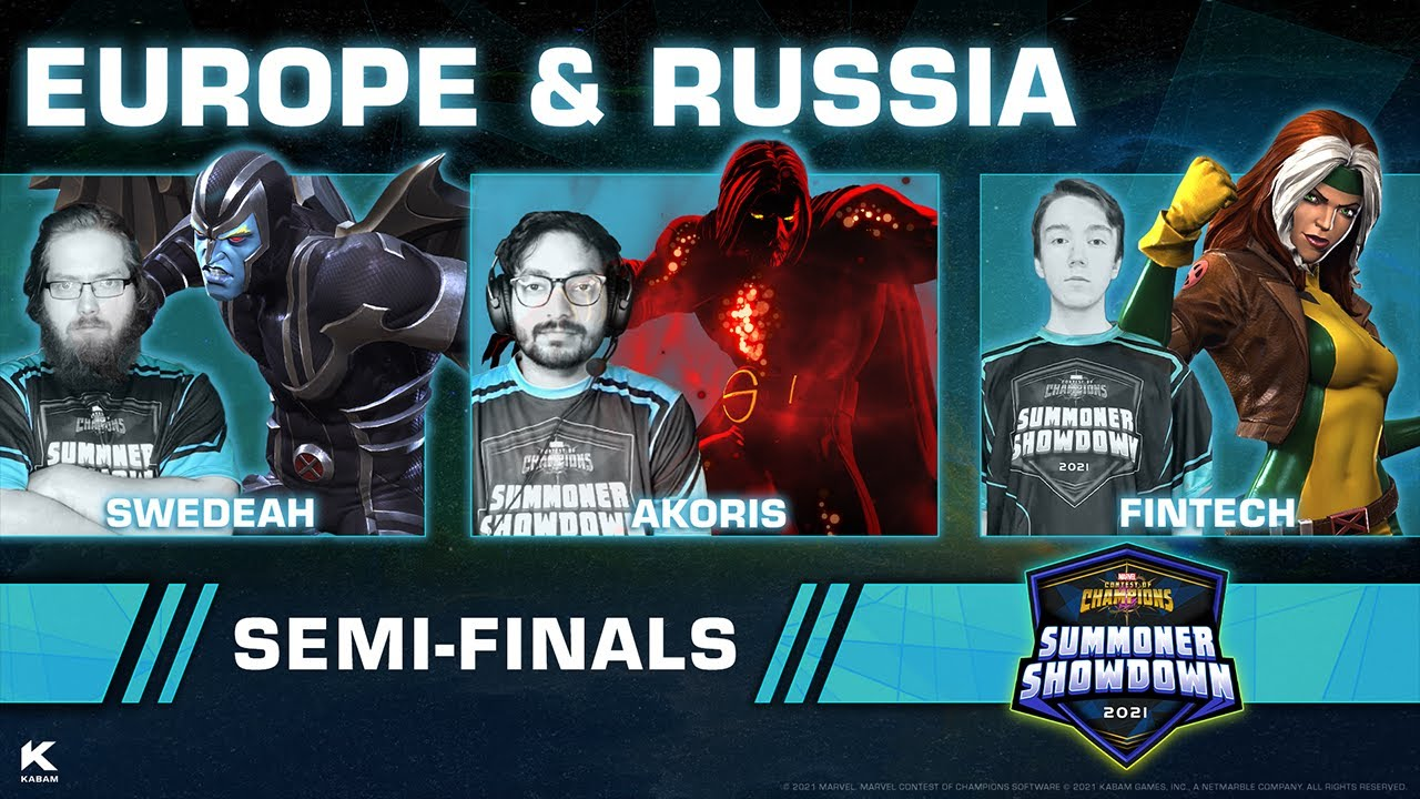 Download Summoner Showdown Semi-Finals: Europe and Russia   Marvel Contest of Champions