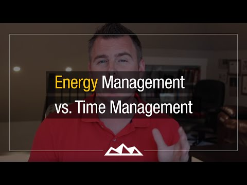 Why Energy Management Is Better Than Time Management
