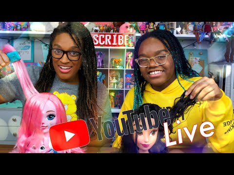 YouTube LIVE with The Froggys | Styling Heads | Q&A | Fan Mail