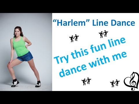 Line Dance Instructions - Harlem by New Politics