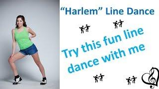 Line Dance Instructions - Harlem by New Politics