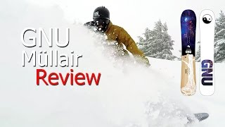 GNU Mullair Powder Snowboard Review