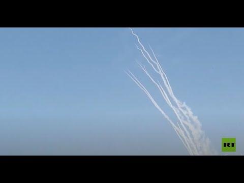 حماس تنشر فيديو لإطلاق وابل من الصواريخ باتجاه مدن إسرائيلية  - نشر قبل 2 ساعة