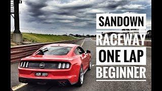 Mustang Motorsport | Sandown Track Day | One Lap | Beginner Level
