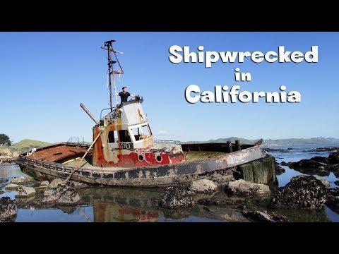 Ship Outta Luck On The California Coast