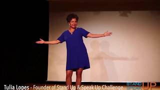 Stand Up & Speak Up Challenge Zurich - Tulia Lopes Opening
