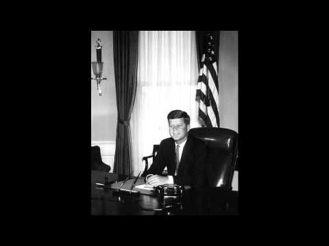 President Kennedy announces the UN World Food Program to fight global hunger