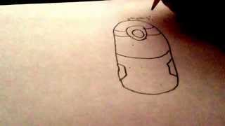 (1)minions how to draw