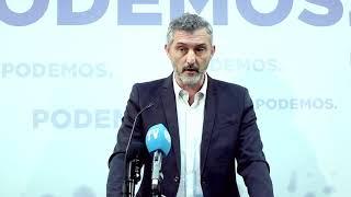 Óscar Urralburu sobre la Trama Gürtel y la moción de censura al PP