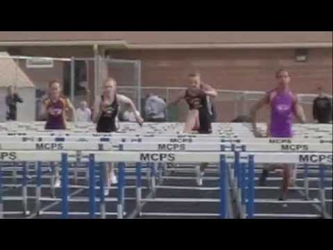 Greg Rice City Meet 110m Hurdles Boys and 100m Hurdles Girls