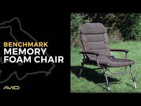 AVID CARP- Benchmark Memory Foam Chair