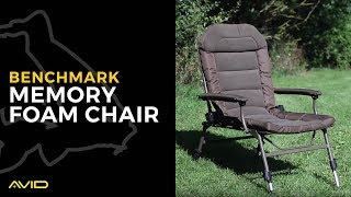 AVID CARP- Benchmark Memory Foam Chair