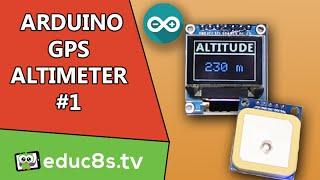 اردوينو المشروع: DIY مقياس الارتفاع باستخدام الجدد UBLOX وحدة GPS و لون OLED من Banggood.com