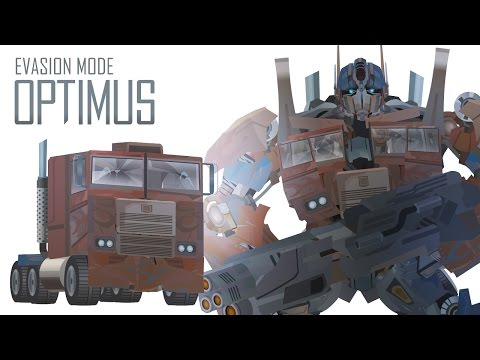 OPTIMUS PRIME(Evasion mode)