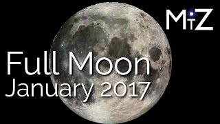 Full Moon January 12, 2017 - True Sidereal Astrology
