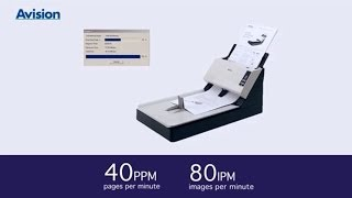 Avision AV1860 Document Scanner
