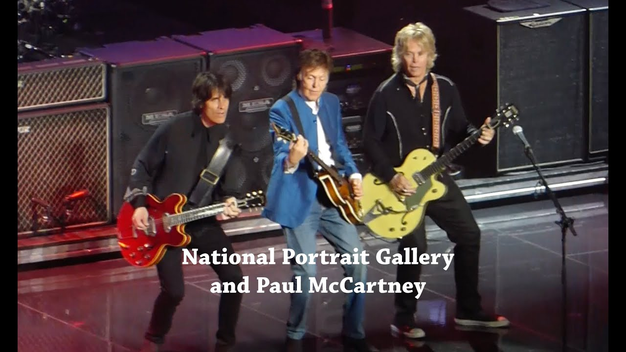 National Portrait Gallery And Paul McCartney