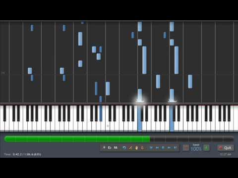 Legend of Mana Theme - Piano Synthesia