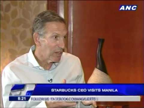 Howard Schultz reveals inspiration for starting Starbucks