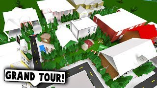 TOWN TOUR AND NAME REVEAL! (Roblox Bloxburg) Roblox Roleplay