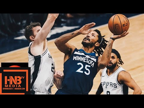 Minnesota Timberwolves vs San Antonio Spurs Full Game Highlights | 11.28.2018, NBA Season