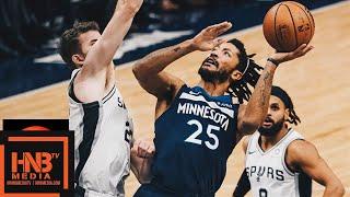 Minnesota Timberwolves vs San Antonio Spurs Full Game Highlights | 11.28.2018, NBA Season