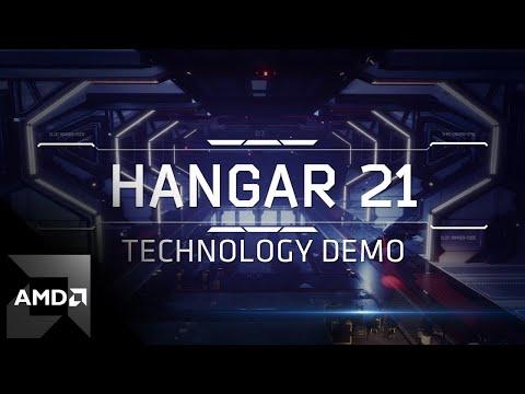 "AMD RDNA™ 2 ""Hangar 21"" Technology Demo"