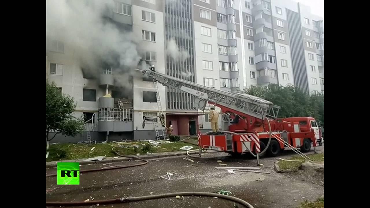 В многоэтажном доме в Набережных Челнах произошел взрыв бытового газа
