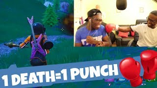 1 DEATH = 1 PUNCH (Fortnite Battle Royale Gameplay)