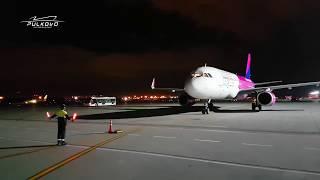 Первый рейс Wizz Air в Пулково   27 августа 2017 года