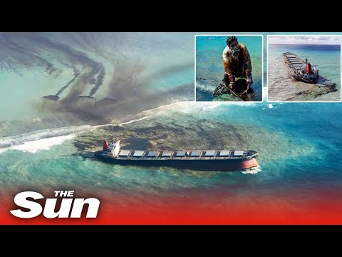 Mauritius oil spill ship could break spilling another 4,000 tonnes