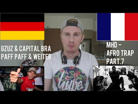 GERMAN (GZUZ & CAPITAL BRA) vs FRANCE (MHD) // RAP REACTION BATTLE
