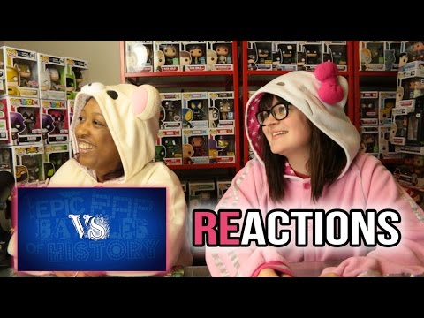Epic Rap Battles of History Season 3 / 1-12  Binge Watching Reaction  & Giveaway (CLOSED)
