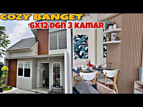 Rumah Minimalis Ukuran 7x20m Modern Style || Rumah Orang Bule Bagus Banget  ! - YouTube