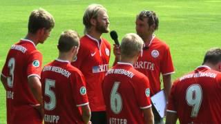 Nico Herzig Kapitän des SV Wehen Wiesbaden