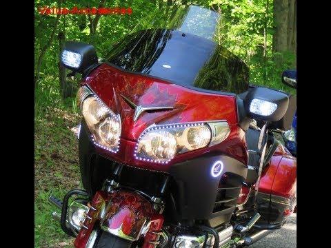 Amber 7440 21 SMD LED Bulbs Rear Turn Signal Light For Honda Goldwing 1800 F6B