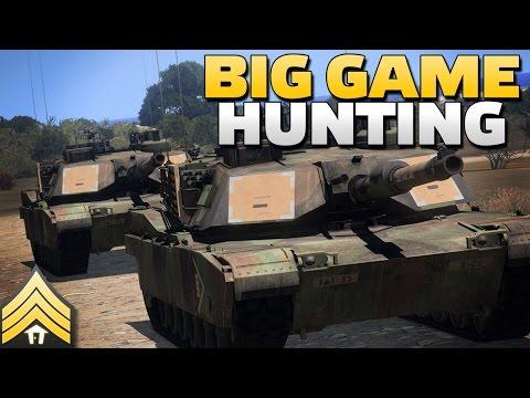 Big Game Hunting - Arma 3 Tank vs Tank