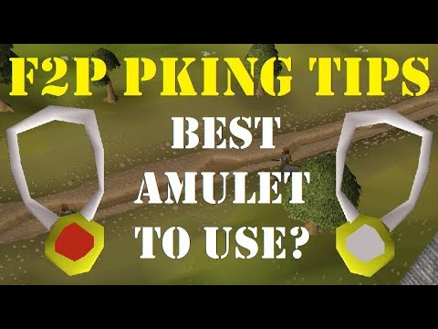 Amulet of Strength vs Amulet of Power - OSRS F2P Pking Tips